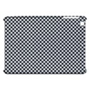 Sports Racing Chess Squares Black White Apple iPad Mini Hardshell Case View1