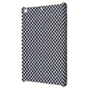 Sports Racing Chess Squares Black White Apple iPad Mini Hardshell Case View3