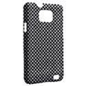 Sports Racing Chess Squares Black White Samsung Galaxy S II i9100 Hardshell Case (PC+Silicone) View2