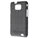 Sports Racing Chess Squares Black White Samsung Galaxy S II i9100 Hardshell Case (PC+Silicone) View3