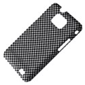 Sports Racing Chess Squares Black White Samsung Galaxy S II i9100 Hardshell Case (PC+Silicone) View4