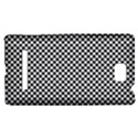 Sports Racing Chess Squares Black White HTC 8S Hardshell Case View1