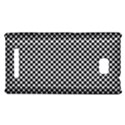 Sports Racing Chess Squares Black White HTC 8X View1