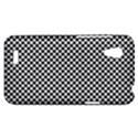 Sports Racing Chess Squares Black White HTC Desire VT (T328T) Hardshell Case View1