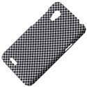 Sports Racing Chess Squares Black White HTC Desire VT (T328T) Hardshell Case View4