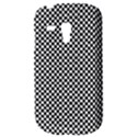 Sports Racing Chess Squares Black White Samsung Galaxy S3 MINI I8190 Hardshell Case View3