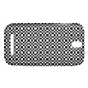 Sports Racing Chess Squares Black White HTC One SV Hardshell Case View1