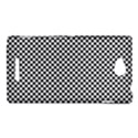 Sports Racing Chess Squares Black White Sony Xperia C (S39H) View1