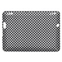 Sports Racing Chess Squares Black White Kindle Fire HDX Hardshell Case View1