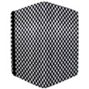 Sports Racing Chess Squares Black White iPad Air Flip View3