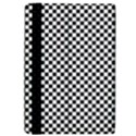 Sports Racing Chess Squares Black White iPad Air Flip View4