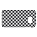 Sports Racing Chess Squares Black White Galaxy S6 View1