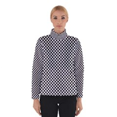 Sports Racing Chess Squares Black White Winterwear