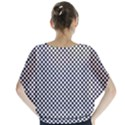 Sports Racing Chess Squares Black White Blouse View2