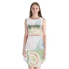UNICORN - I AM NOT CUTE Sleeveless Chiffon Dress