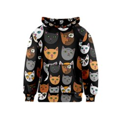 Cats Kids  Pullover Hoodie