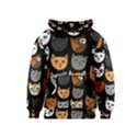 Cats Kids  Pullover Hoodie View1