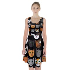Cats Racerback Midi Dress