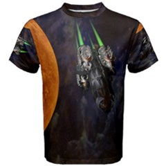 Spaceship  Men s Cotton Tee