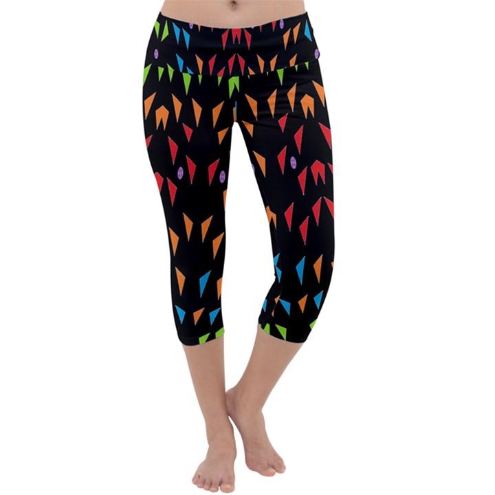 ;; Capri Yoga Leggings