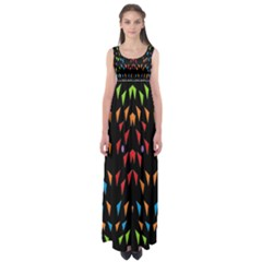 ;; Empire Waist Maxi Dress