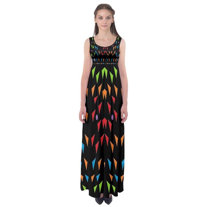 ;; Empire Waist Maxi Dress