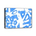 Blue summer design Mini Canvas 7  x 5  View1