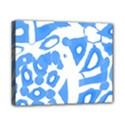 Blue summer design Canvas 10  x 8  View1