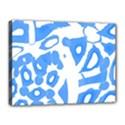 Blue summer design Canvas 16  x 12  View1