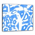 Blue summer design Canvas 24  x 20  View1
