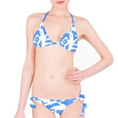 Blue summer design Bikini Set