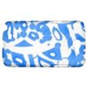 Blue summer design Samsung Galaxy Note 2 Hardshell Case View1