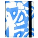 Blue summer design Apple iPad Mini Flip Case View2