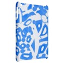 Blue summer design Apple iPad Mini Hardshell Case View2