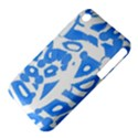 Blue summer design Apple iPhone 3G/3GS Hardshell Case (PC+Silicone) View4