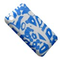 Blue summer design Apple iPhone 3G/3GS Hardshell Case (PC+Silicone) View5