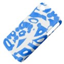 Blue summer design Apple iPhone 4/4S Hardshell Case (PC+Silicone) View4