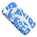 Blue summer design Apple iPhone 4/4S Hardshell Case (PC+Silicone) View5