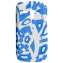 Blue summer design Samsung Galaxy S3 MINI I8190 Hardshell Case View2