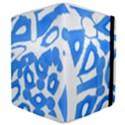 Blue summer design Samsung Galaxy Tab 8.9  P7300 Flip Case View4