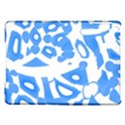 Blue summer design iPad Air Hardshell Cases View1