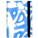 Blue summer design iPad Mini 2 Flip Cases View2