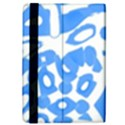 Blue summer design iPad Mini 2 Flip Cases View4