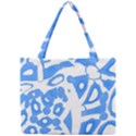Blue summer design Mini Tote Bag View1