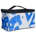 Blue summer design Cosmetic Storage Case View2
