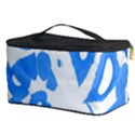 Blue summer design Cosmetic Storage Case View3