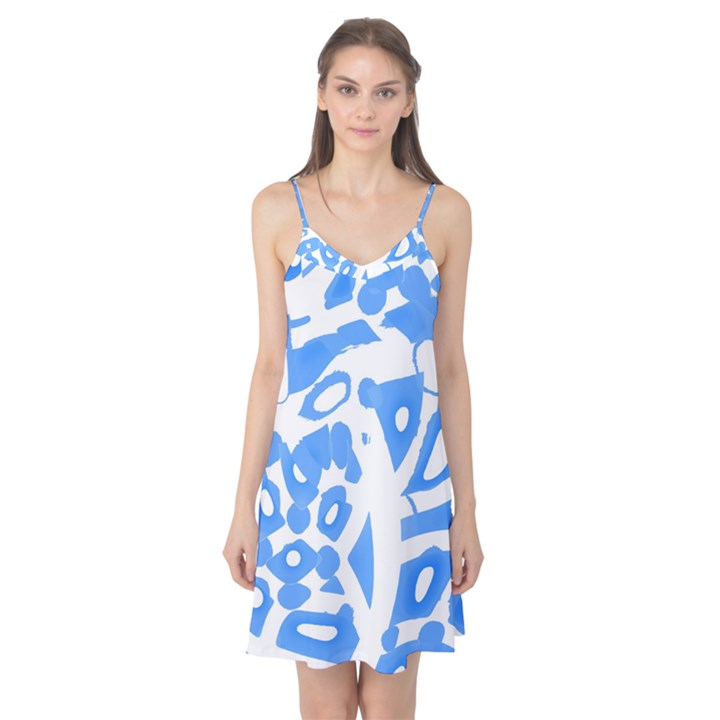 Blue summer design Camis Nightgown