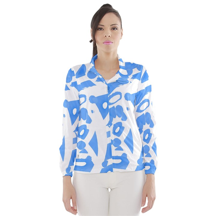 Blue summer design Wind Breaker (Women)