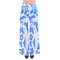 Blue summer design Pants