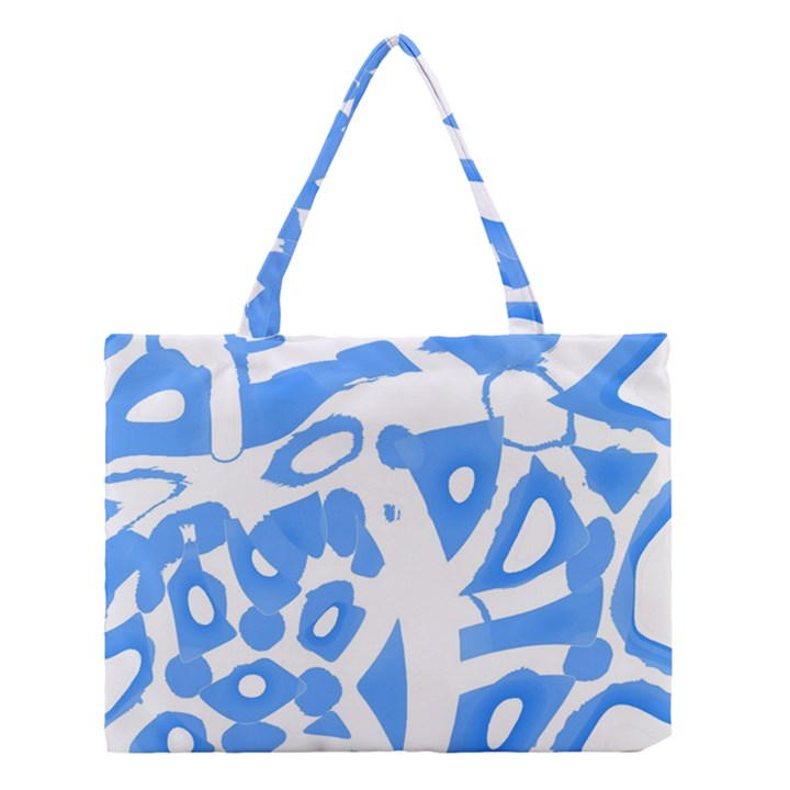 Blue summer design Medium Tote Bag